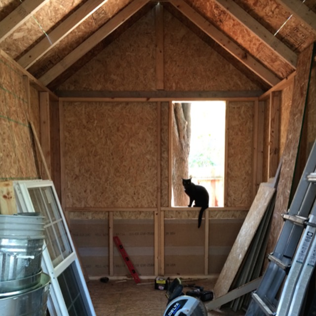 how to build an easy shed